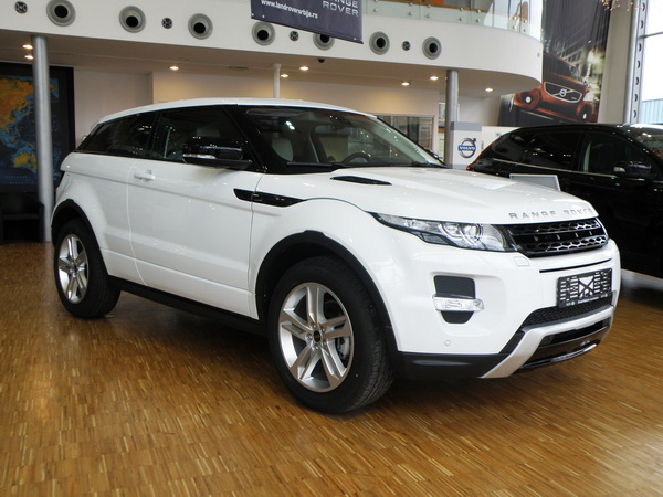 Range Rover Evoque u ponudi Grand Motorsa