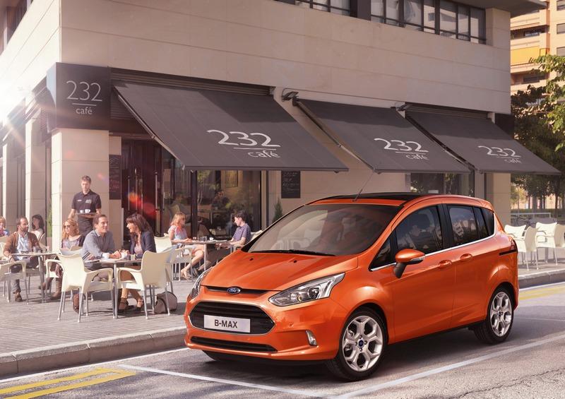 Potpuno novi Ford B-MAX na auto salonu u Ženevi