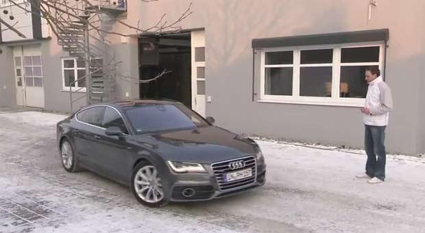 Audi vizije - parking autopilot