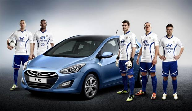 Tim Hyundai - ambasadori Hyundaija na Euro 2012