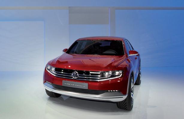 Volkswagen Cross Coupe sa TDI plug-in hibridom