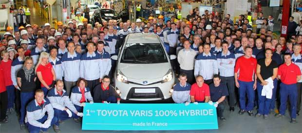 Počela proizvodnja Yaris Hybrid-a u Francuskoj