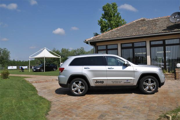 STOJANOV doo prezentovao prestižne modele Lancia i Jeep na Golf turniru NS Open 2012