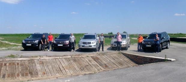 Toyota Fleet VIP Off road event – Dunav group