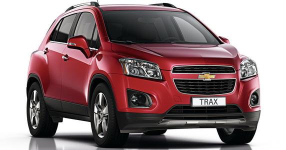Chevrolet Trax premijerno u Parizu
