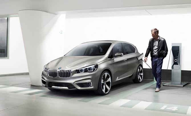 BMW u Pariz dovodi Concept Active Tourer