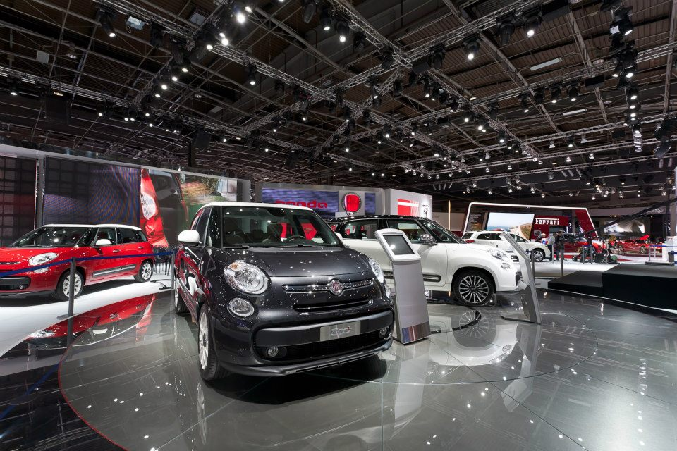 Fiatov štand u Parizu