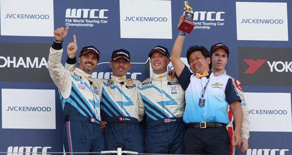 Fantastičan trkački vikend za Chevrolet WTCC tim na stazi Suzuka u Japanu