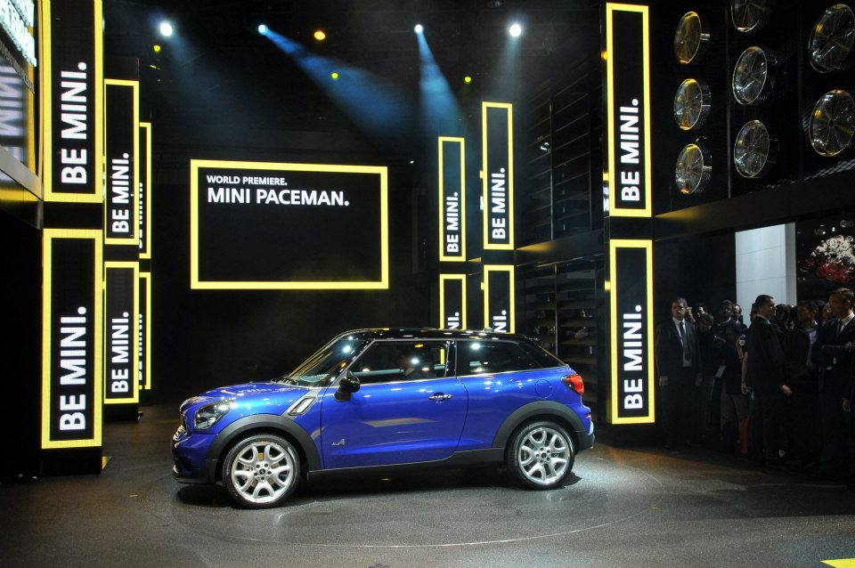 MINI Paceman na Paris Motor Show 2012