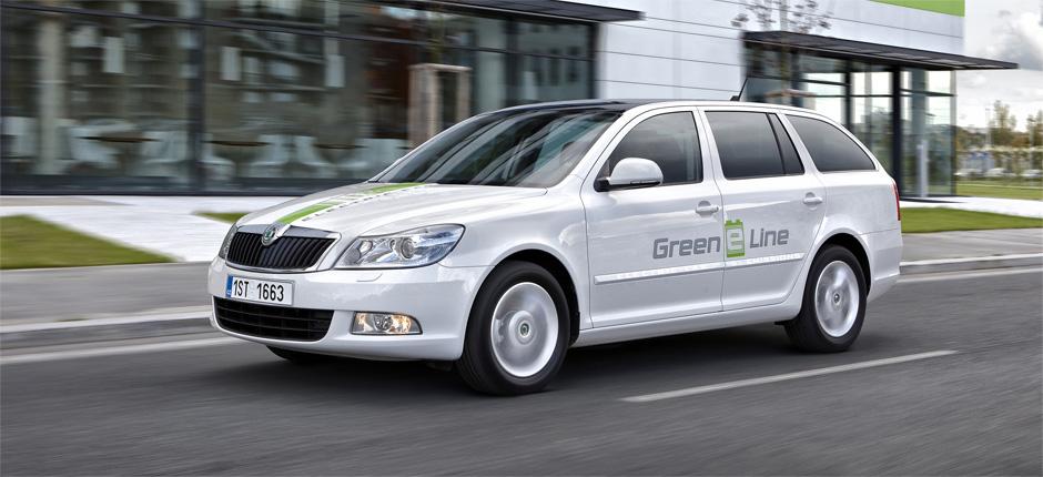 Škoda Octavia Green E-Line