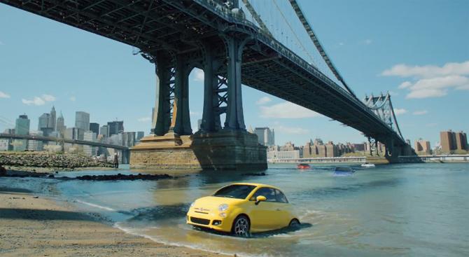 Fiat 500 u U.S.A.