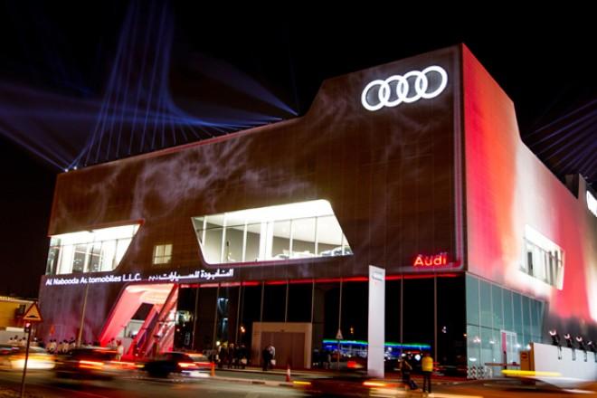 Najveći svetski Audi terminal se otvara u Dubaiju