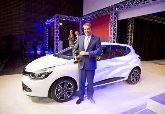 """""""Zlatni volan"""" 2012 za novi Clio u klasi malih automobila"""