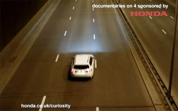 Honda sistem za praćenje saobraćajne trake (LKAS)