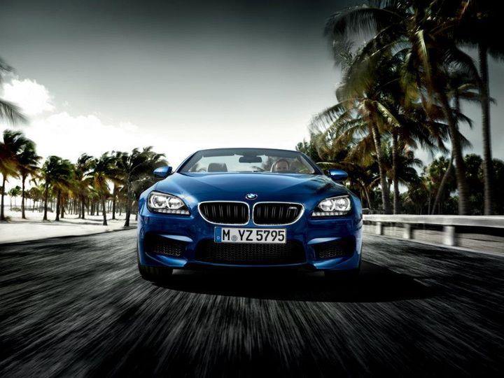 BMW M6 Coupe na putu