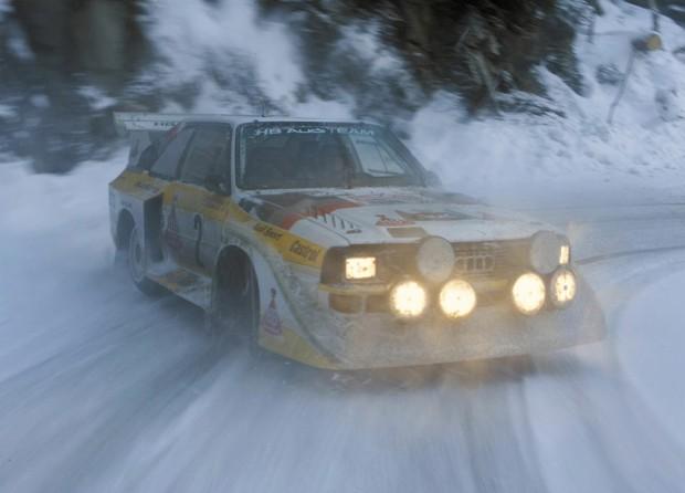 Power of Audi quattro