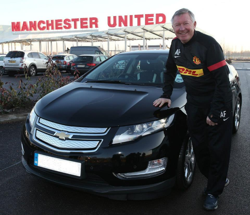 Legende Manchester Uniteda u Chevroletu