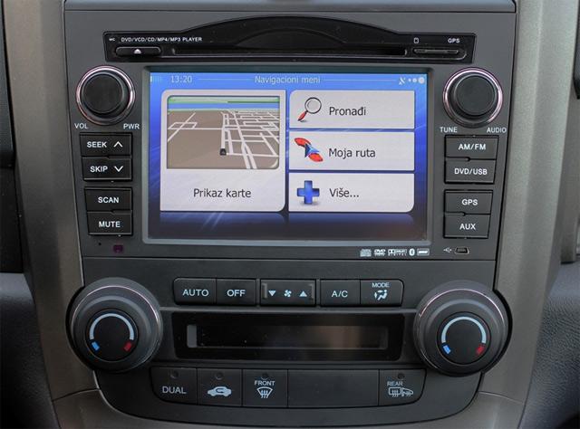 Multimedijalni uređaj za Honda modele CR-V i Accord
