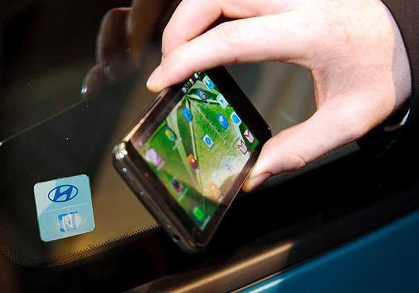 Hyundai NFC tehnologija za otključavanje vozila mobilnim telefonom
