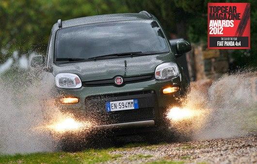 "Fiat Panda 4x4 ""Terenac godine"" po magazinu Top Gear"