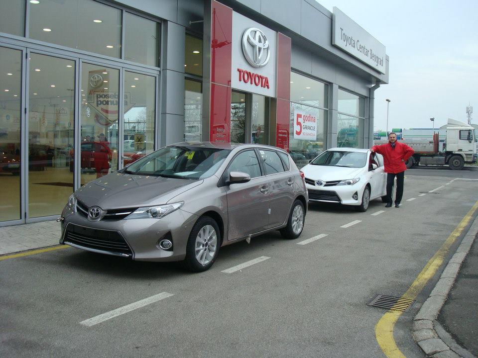Novi Auris stigao u Toyota Centar Beograd