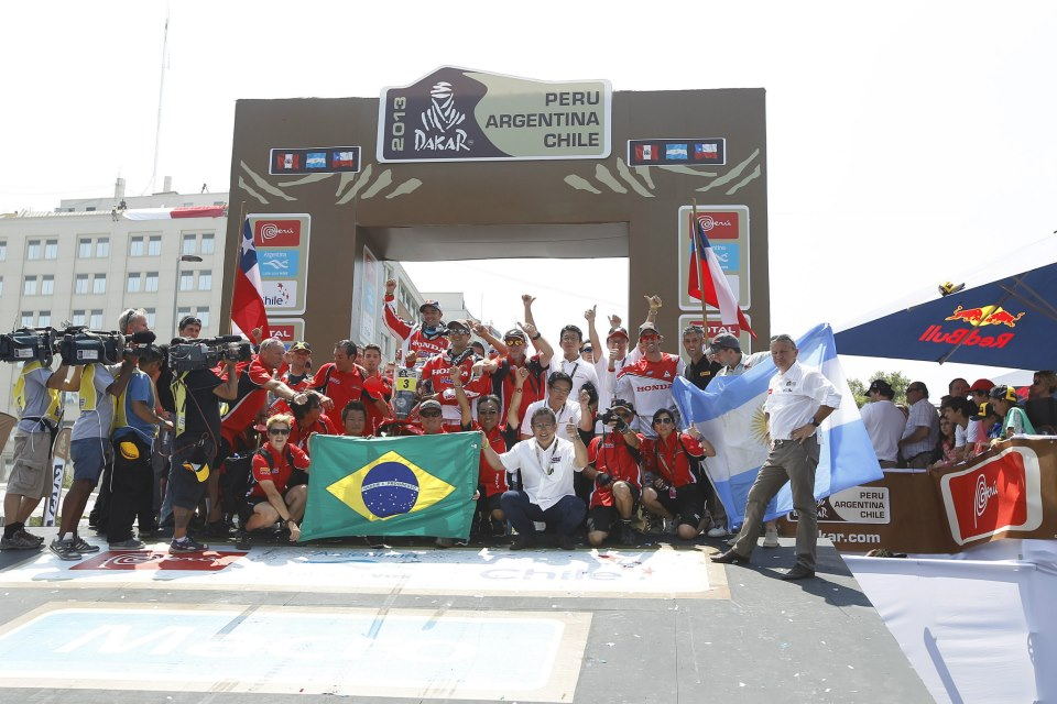Team HRC završio Dakar reli