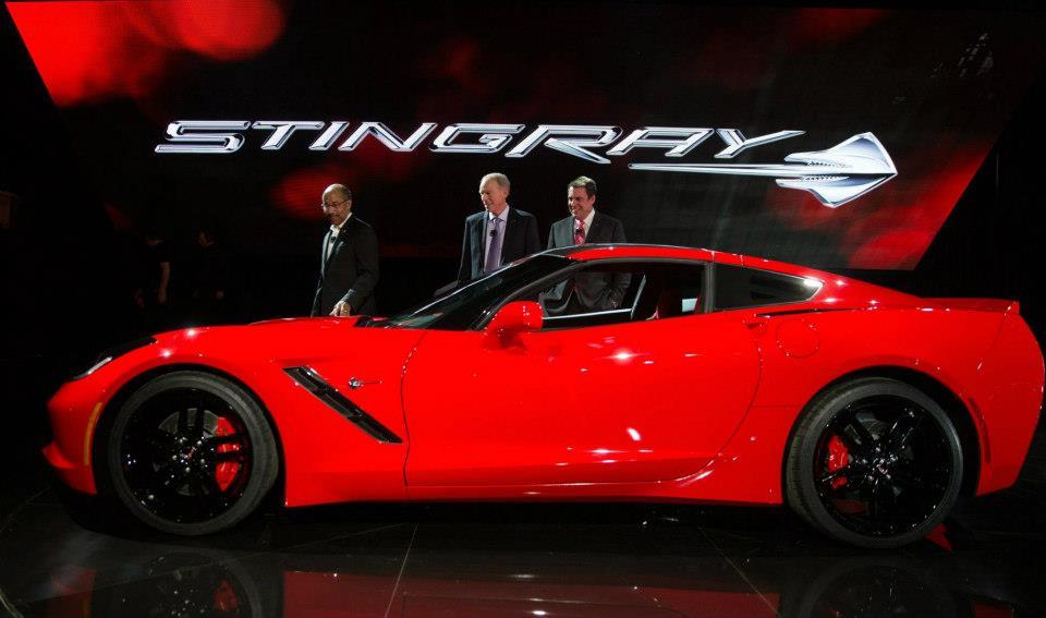 Novi Chevy Corvette u Detroitu - Corvette Stingray