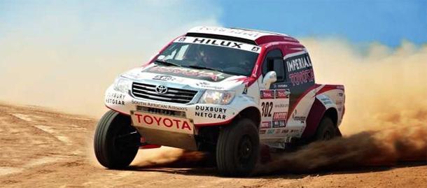 Toyota Hilux za Dakar reli 2013.