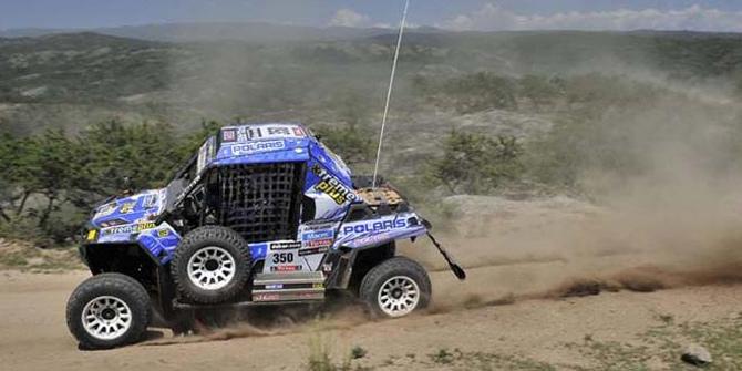 Polaris Racing Team pobedio na 2013 DAKAR reliju!