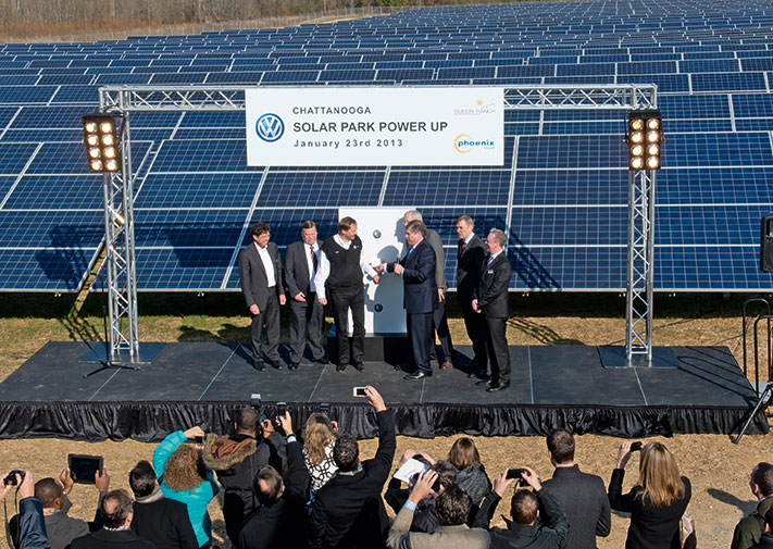 Volkswagen otvara solarni park u SAD