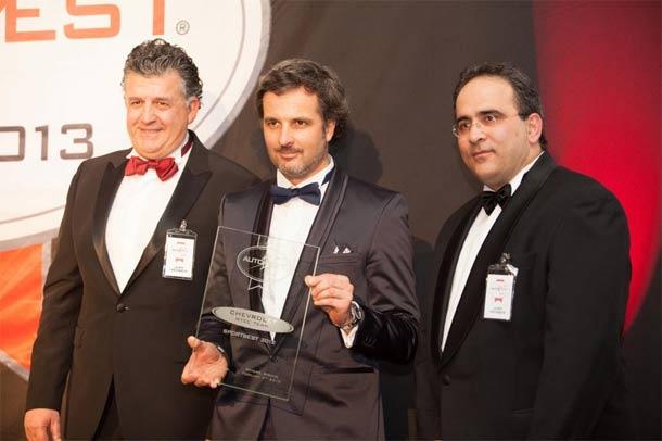 SPORTBEST 2012 nagrada za WTCC Chevrolet tim