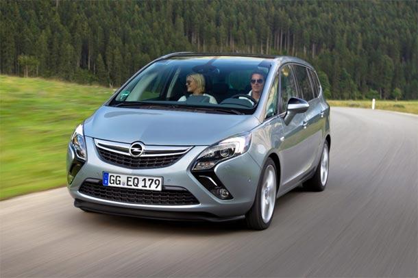 Opel Zafira Tourer 1.6 CDTI: Maksimalno efikasan sedmosed