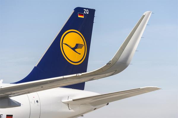 """Lufthansa postala prva evropska avio-kompanija koja ima avion A320 sa """"šarklet"""" uređajima"""