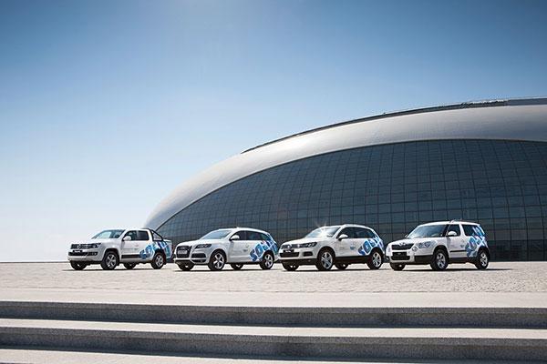 Volkswagen Rusija generalni partner Zimske olimpijade u Sočiju 2014.