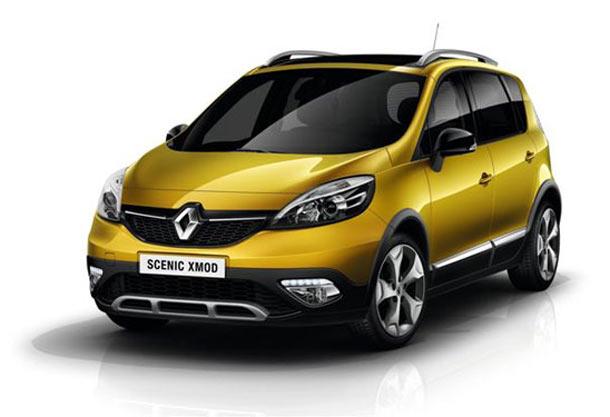 Renault Scénic XMOD - vodeći MPV crossover