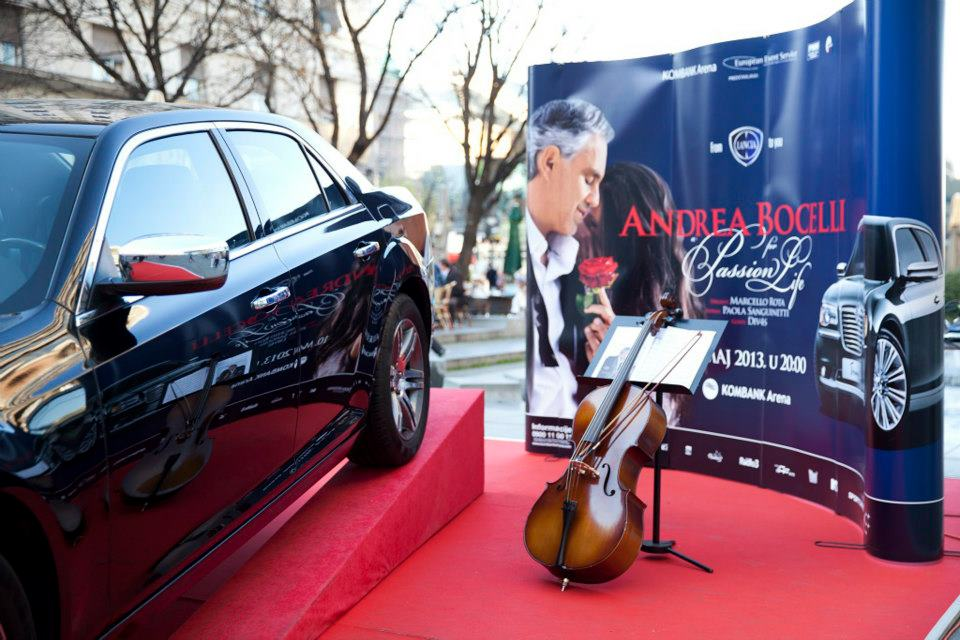 LANCIA u susret koncertu ANDREA BOČELIJA