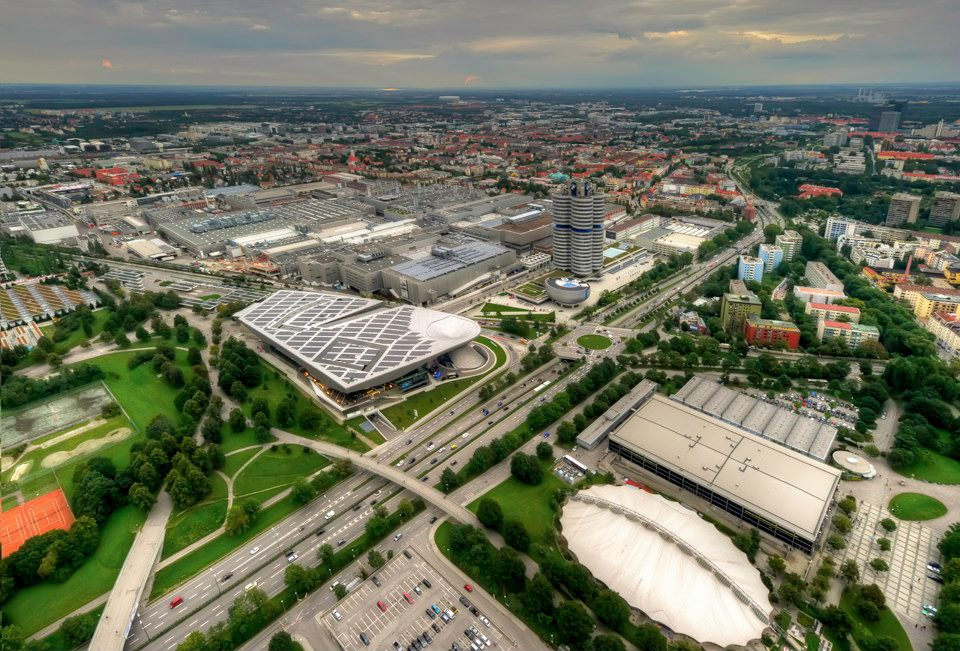 BMW Welt građevinsko čudo