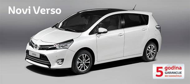 Novi Toyota Verso