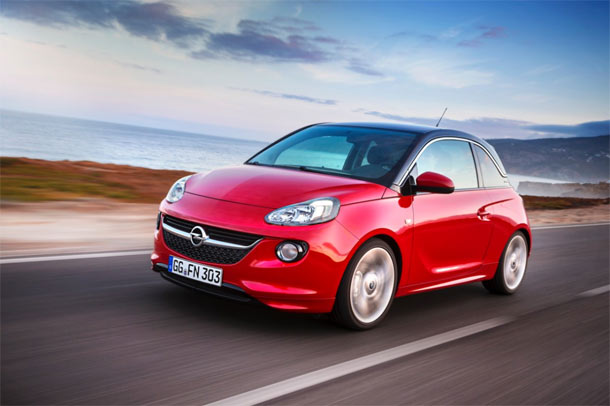 Opel ADAM dobitnik »red dot design award«