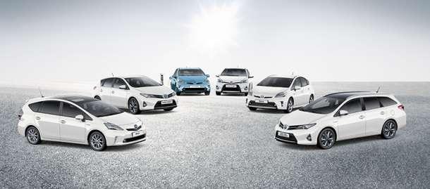 Globalna prodaja Toyota i Lexus hibrida premašila 5 miliona