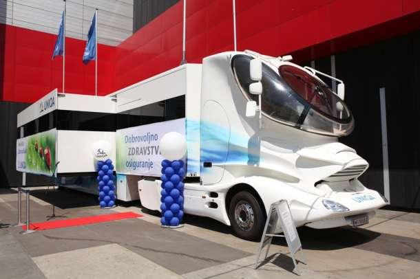 MedUNIQA mobilni centar za brigu o zdravlju stigao u Beograd