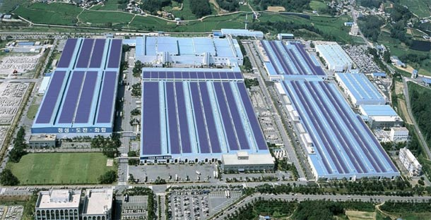Hyundai postavlja foto ćelije za proizvodnju energije