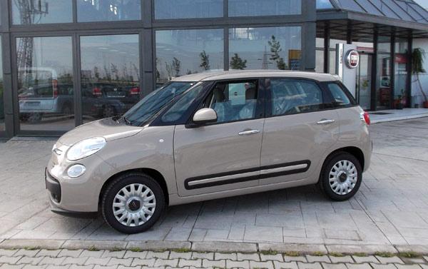 Cappuccino – nova boja za Fiat 500L NACIONALE koja se ne naplaćuje