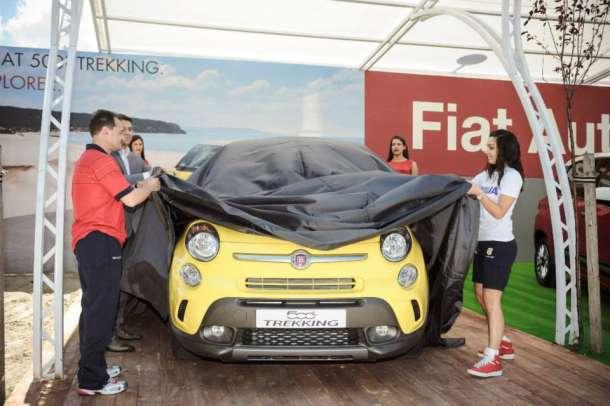 U Beogradu predstavljen FIAT 500L Trekking