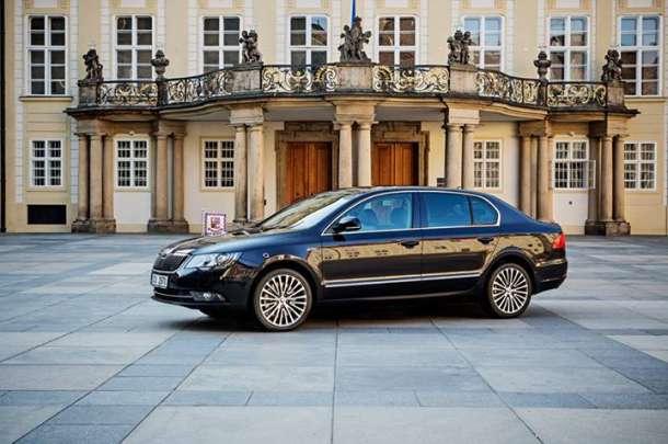 Škoda Superb 3.6 V6 za češkog predsednika