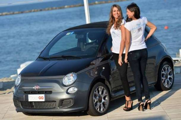 Fiat 500 GQ special party