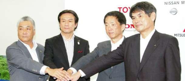 Toyota, Nissan, Honda i Mitsubishi zajedno razvijaju infrastrukturu za punjenje
