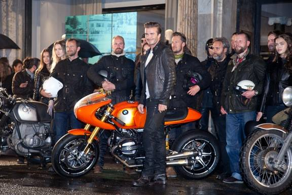 "David Beckham na promociji ""BMW Concept 90″ modela"