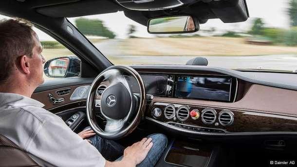 Mercedes S500 umreženi automobil bez vozača
