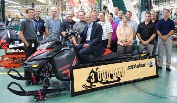 3 miliona Ski-Doo motornih sanki